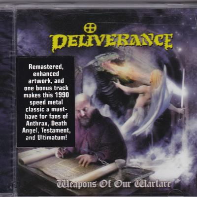 DELIVERANCE - WEAPONS OF OUR WARFARE (2007, Retroactive) - Christian Rock, Christian Metal