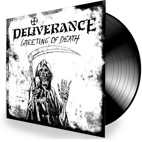 DELIVERANCE - GREETING OF DEATH (Vinyl) 2019 Retroactive Records