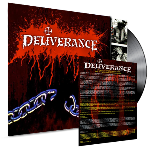 DELIVERANCE - S/T (*NEW-BLACK VINYL, 2017, Roxx Records) - Christian Rock, Christian Metal