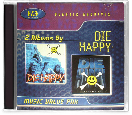 Die Happy - 2 Album Classic Archives (CD) Volume II - Christian Rock, Christian Metal