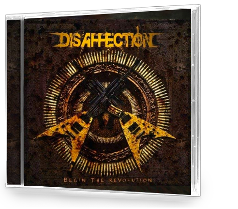 Disaffection - Begin The Revolution (CD) METAL - Christian Rock, Christian Metal