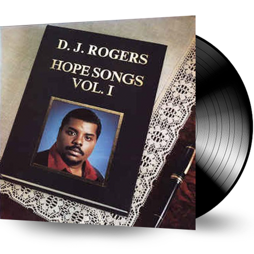 D.J. Rogers - Hope Songs Vol. 1 (Vinyl)  DJ RODGERS - Christian Rock, Christian Metal