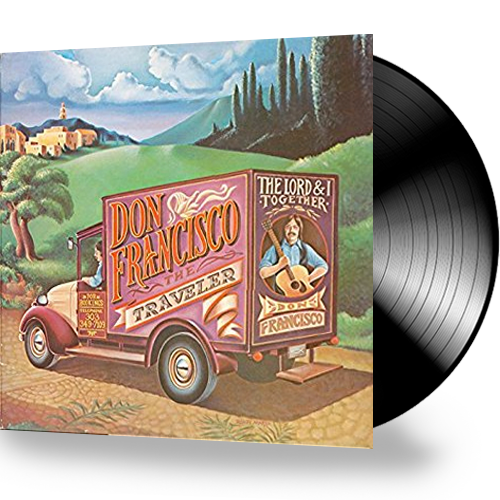Don Francisco - The Traveler (Vinyl) GATEFOLD - Christian Rock, Christian Metal