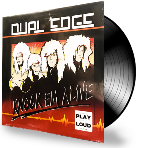Dual Edge - Knock Em Alive (Vinyl) - Christian Rock, Christian Metal