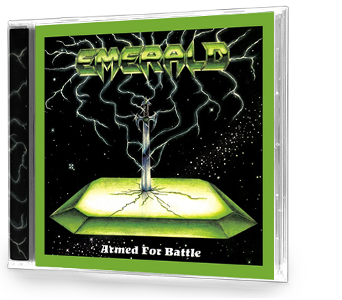 EMERALD - ARMED FOR BATTLE (+ 4 BONUS TRACKS) CD