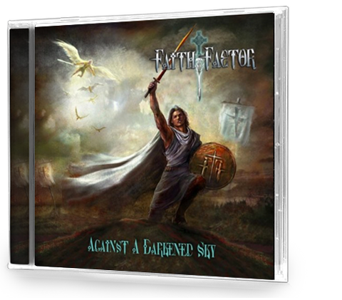 Faith Factor - Against a Darkened (CD) POWER METAL Queensryche, Iron Maiden.