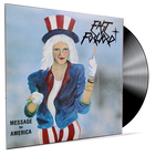 FAST FORWARD - MESSAGE FOR AMERICA (VINYL) INDIE PRIVATE PRESS 80's METAL