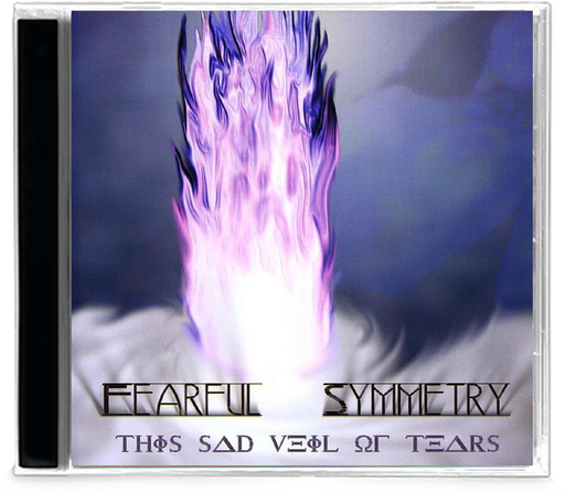 Fearful Symmetry ‎– This Sad Veil Of Tears (CD) 2003 Retroactive - Christian Rock, Christian Metal