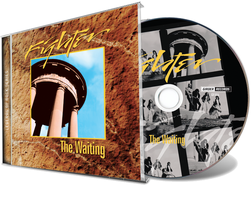 Fighter - The Waiting + 4-Song EP (Demo) CD 2019 Legends of Rock - Christian Rock, Christian Metal