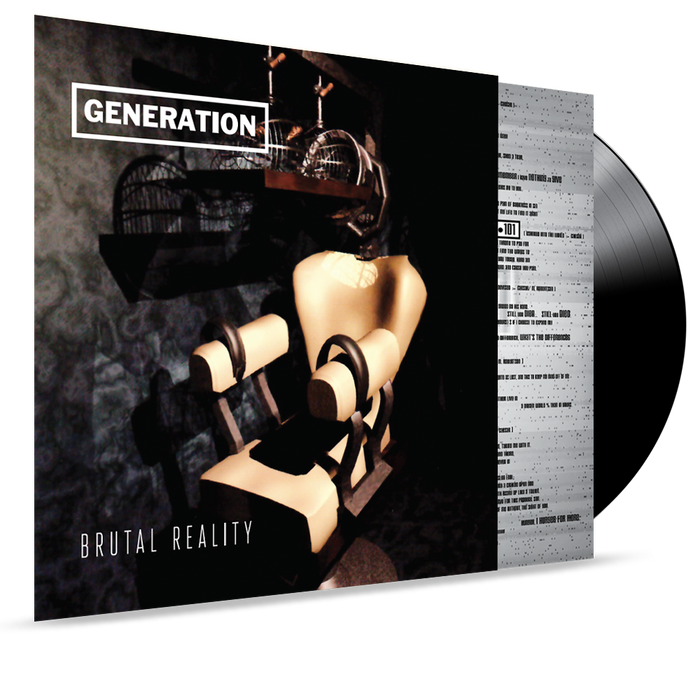 GENERATION - BRUTAL REALITY (180 GRAM VINYL) - Christian Rock, Christian Metal