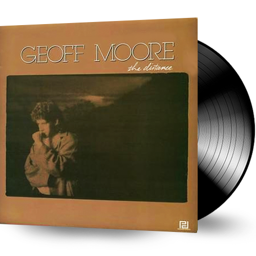 GEOFF MOORE - THE DISTANCE (Vinyl Record, 1987, Power Disc) *SEALED!