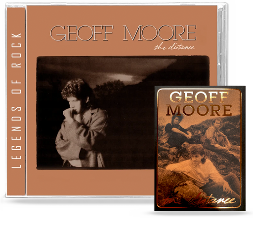 Geoff Moore - The Distance (CD) Remastered, 2020 Girder + Ltd. Ed. Trading Card