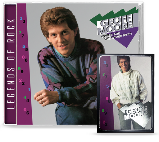 Geoff Moore - Where Are The Other Nine? + 1 Bonus Track (CD) Remastered,  2020 Girder + Ltd. Ed. Trading Card
