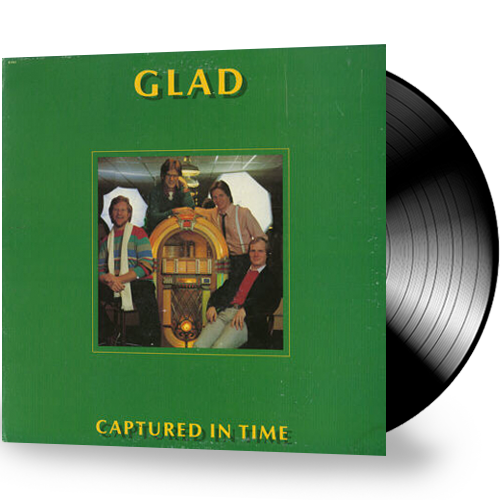 Glad  - Captured In Time (Vinyl)  New/Sealed Gospel Milk & Honey Records 1982 - Christian Rock, Christian Metal