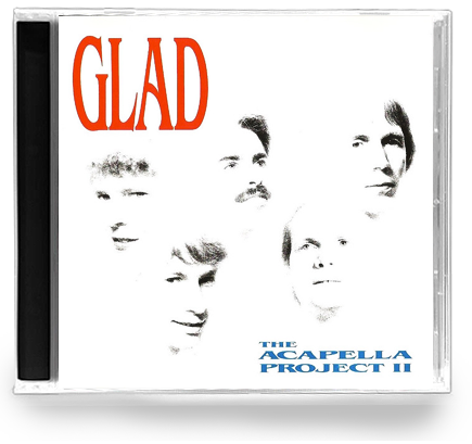 GLAD - The Acapella Project 2 (CD) - Christian Rock, Christian Metal