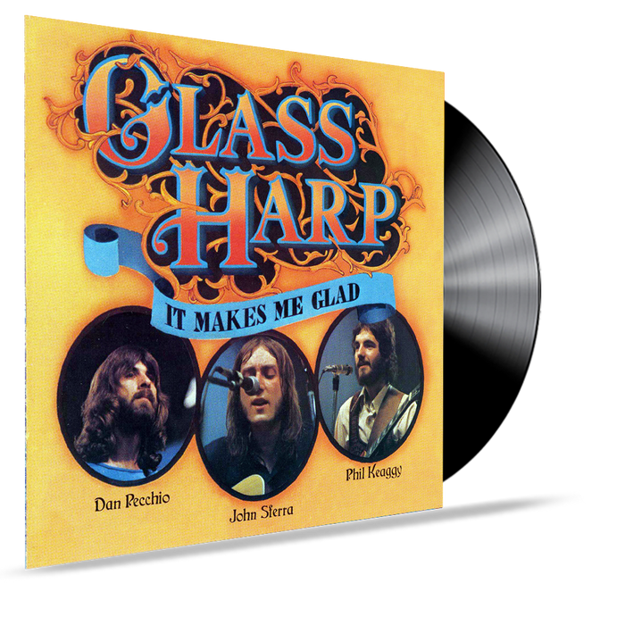 Glass Harp - It Makes Me Glad (Vinyl) Phil Keaggy - Christian Rock, Christian Metal