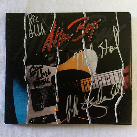 Altar Boys - Gut Level Music (CD) 2015 Autographed CD