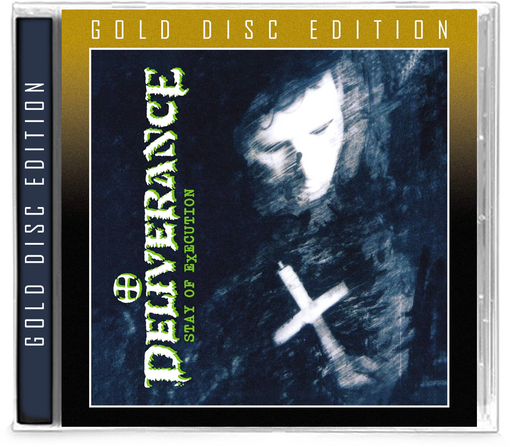 DELIVERANCE - STAY OF EXECUTION (Gold Disc Edition) (*NEW-CD, 2019, Retroactive) Limited to 300 copies - Christian Rock, Christian Metal