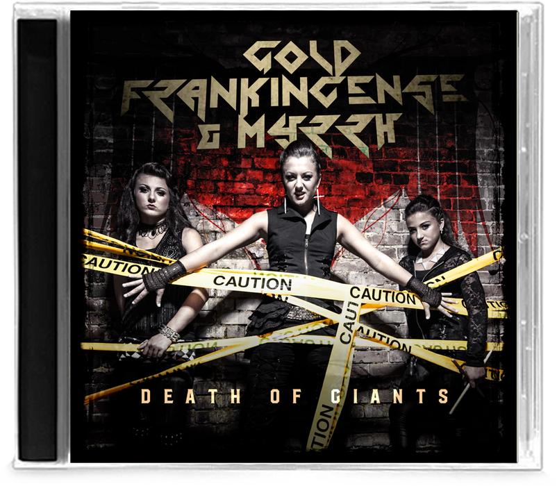 Gold, Frankincense & Myrrh - Death of Giants (EP) - Christian Rock, Christian Metal