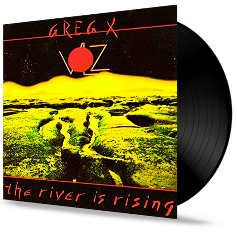 Greg X. Volz - The River Is Rising (Vinyl) Pre-Owned (PETRA Vocalist)