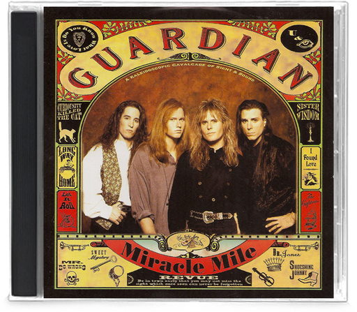 Guardian - Miracle Mile (CD) Pakaderm - Christian Rock, Christian Metal