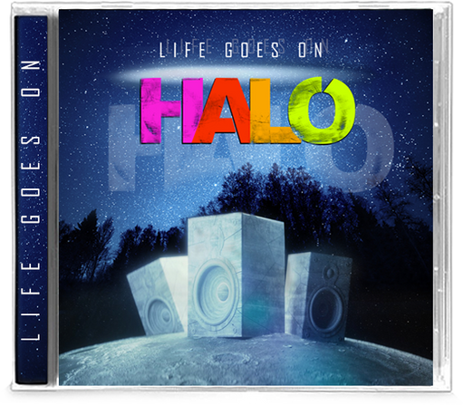 Halo - Life Goes On (CD)  FIRST TIME ON CD - Christian Rock, Christian Metal