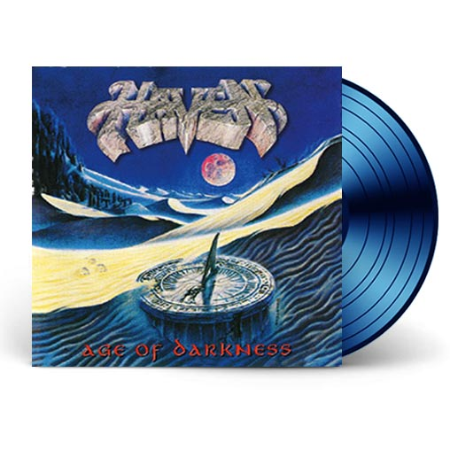 HAVEN - AGE OF DARKNESS (BLUE-VINYL) 2017 Retroactive Records