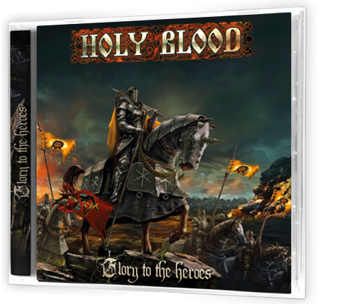 HOLY BLOOD - GLORY TO THE HEROES (EP) (CD) - Christian Rock, Christian Metal