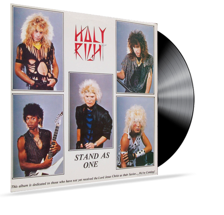 Holy Right - Stand As One (Vinyl) *1986 ER-7771 RARE INDEPENDENT RELEASE - Christian Rock, Christian Metal