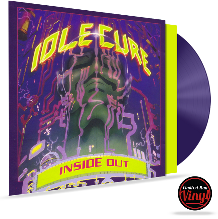 IDLE CURE - INSIDE OUT (*COLORED VINYL) LIMITED RUN VINYL w/Inserts - Christian Rock, Christian Metal