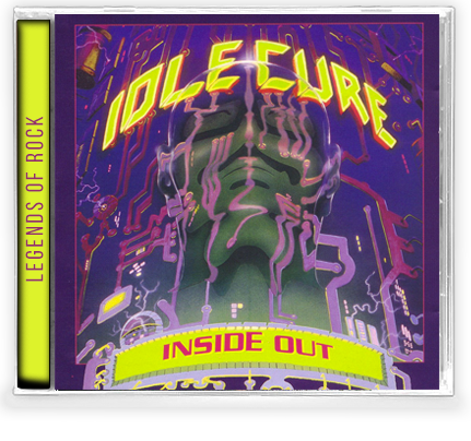 IDLE CURE - INSIDE OUT (*NEW-CD) 2019 GIRDER - Christian Rock, Christian Metal