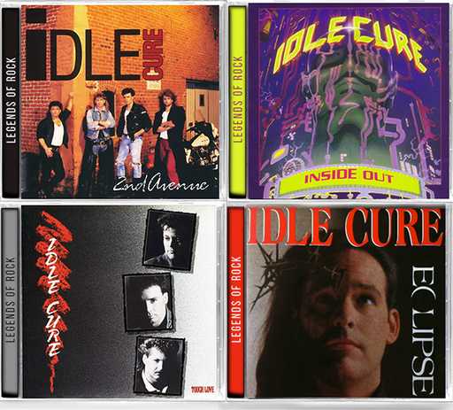 IDLE CURE 4-CD Bundle Inside Out, Eclipse, 2nd Ave, Tough Love