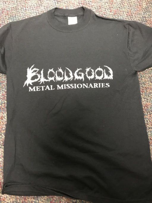 BLOODGOOD - METAL MISSIONARY (Small) T-Shirt - Christian Rock, Christian Metal