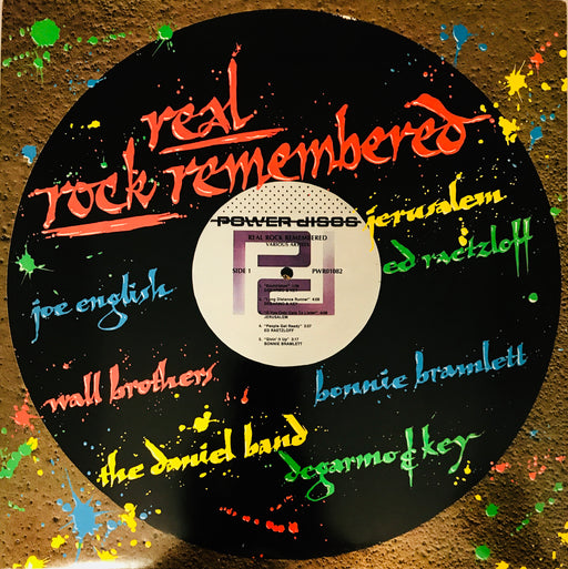 Real Rock Remembered (Vinyl) JERUSALEM, JOE ENGLISH, DEGARMO & KEY - Christian Rock, Christian Metal