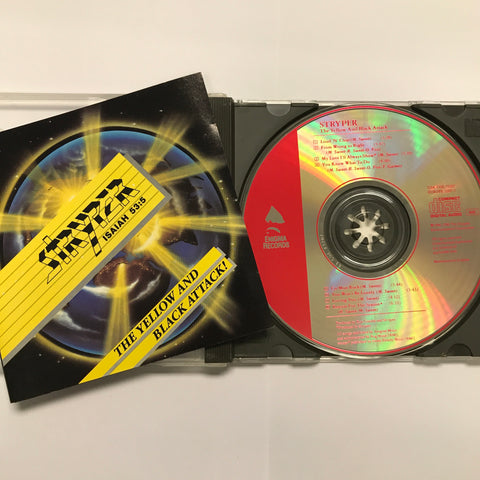 STRYPER - YELLOW AND BLACK ATTACK (CD) PRE-OWNED ** 1984/86 ENIGMA RECORDS ORIGINAL!!!!