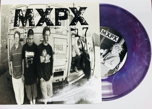 "MXPX - 17 (7"" PURPLE Vinyl) 1995 TOOTH AND NAIL"
