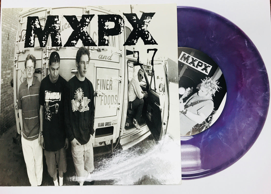 MXPX - 17 (7‰۝ PURPLE Vinyl) 1995 TOOTH AND NAIL