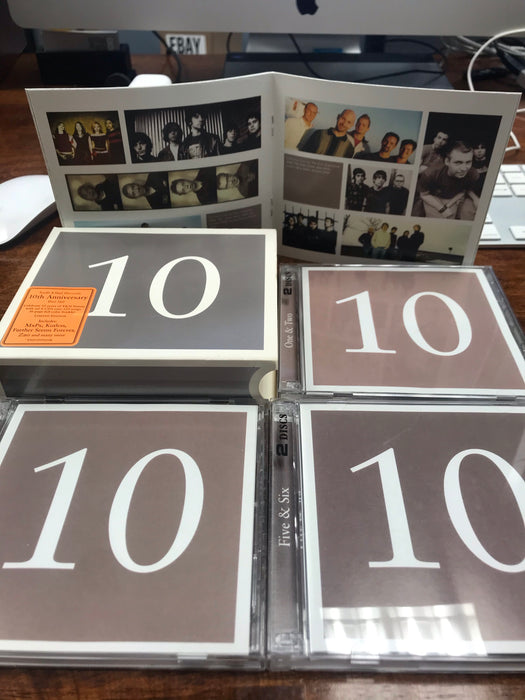 Tooth and Nail 10th Anniversary Box Set (6 CDs) Living Sacrifice, ZAO, MXPX - Christian Rock, Christian Metal