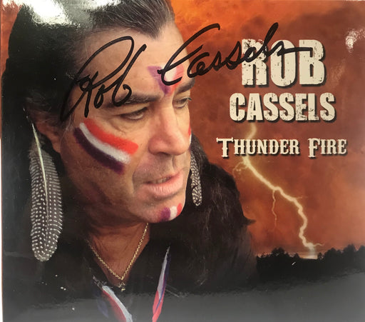 Rob Cassels - Thunder Fire (Autographed CD) - Christian Rock, Christian Metal