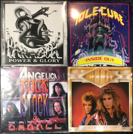 Hard Rock Vinyl Bundle #2 Paradox, Angelica, Shout, Idle Cure