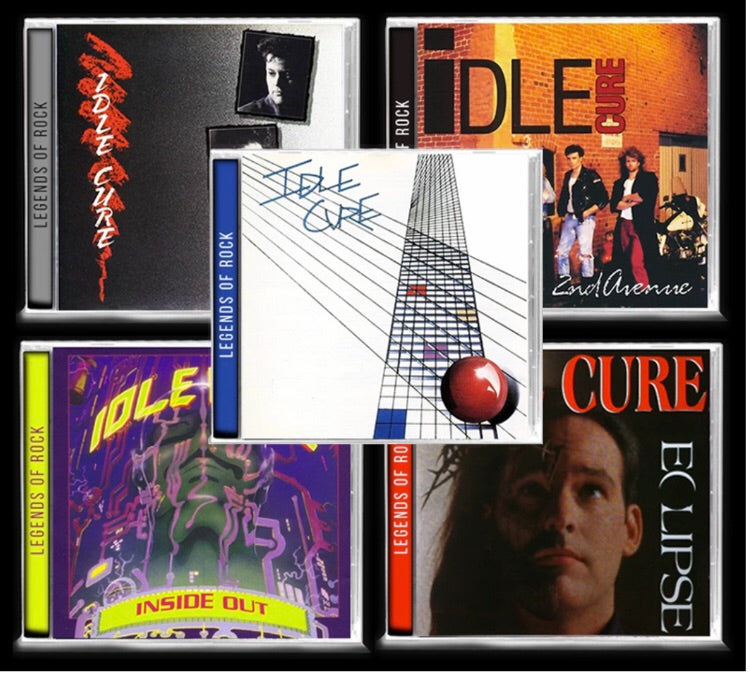 IDLE CURE 5 CD BUNDLE - Christian Rock, Christian Metal