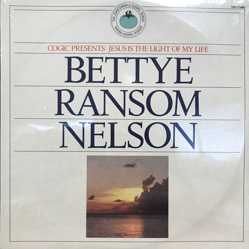 Bettye Ransom Nelson - Jesus Is the Light of My Life - Christian Rock, Christian Metal