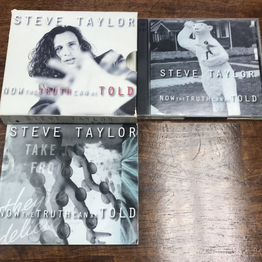 Steve Taylor Now the Truth Can Be Told 2-CD BOX SET w/Book - Christian Rock, Christian Metal