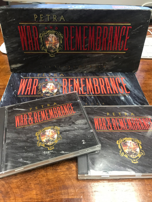Petra - War and Remembrance (2-CD) Box Set ULTRA RARE!!! - Christian Rock, Christian Metal
