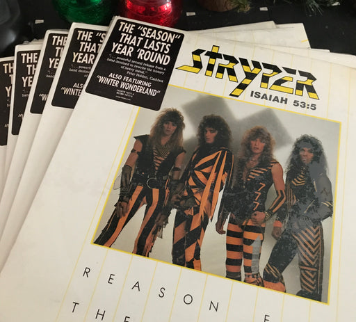 Stryper - Reason for the Season (Vinyl) pre-owned - Christian Rock, Christian Metal