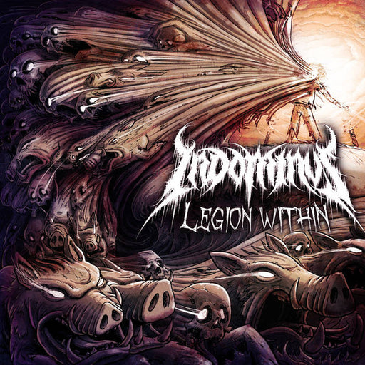 Indominus ‎– Legion Within (CD) - Christian Rock, Christian Metal