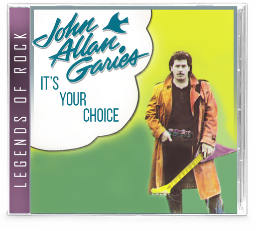 John A. Garies JAG - It's Your Choice (CD)