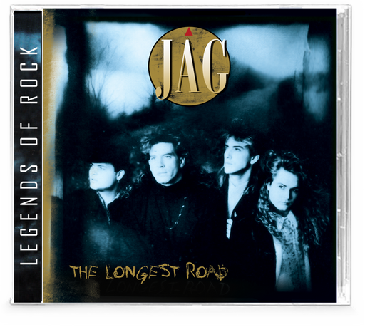 JAG - The Longest Road (CD) AOR Hard Rock, WhiteHeart & GIANT members