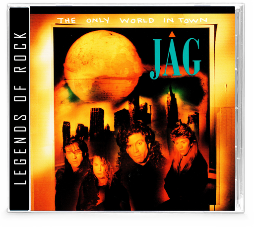JAG - The Only World In Town (CD) AOR Hard Rock, WhiteHeart & GIANT members