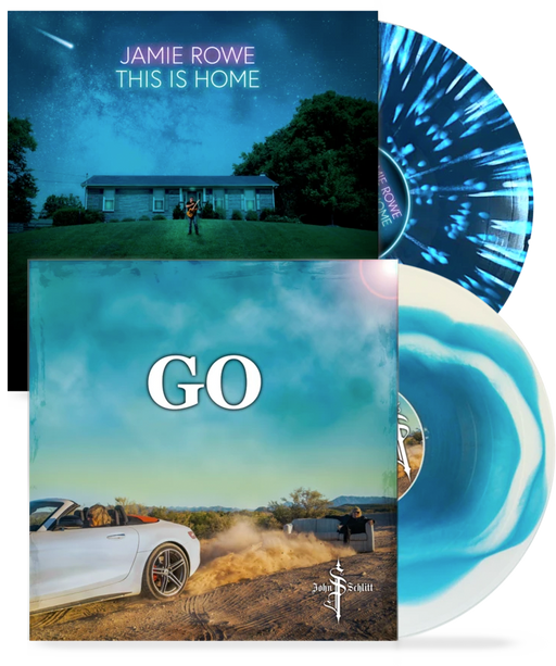 John Schlitt - Go + Jamie Rowe - This is Home (Limited Run Vinyl 2 album Combo) - Christian Rock, Christian Metal